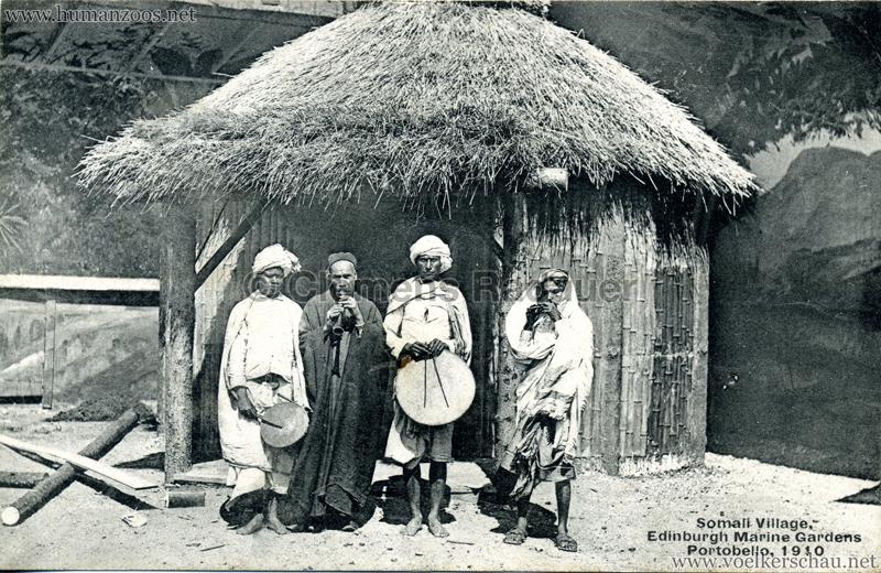 1910 Somali Village, Edinburgh Marine Gardens, Portobello 1