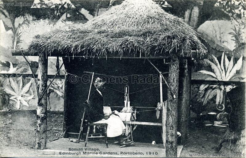 1910 Somali Village, Edinburgh Marine Gardens, Portobello 2