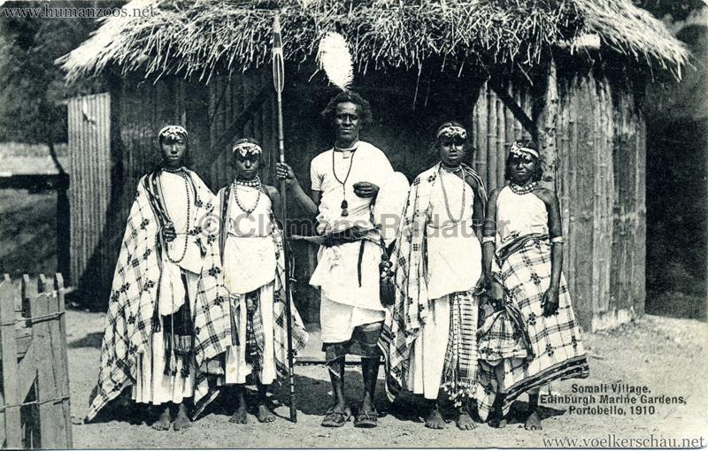 1910 Somali Village, Edinburgh Marine Gardens, Portobello 3