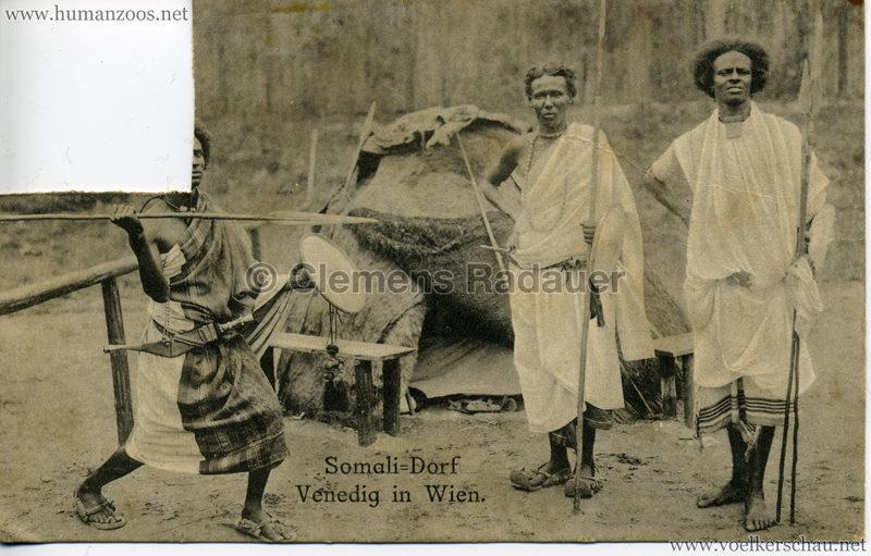 1910 Venedig in Wien Somali-Dorf 1
