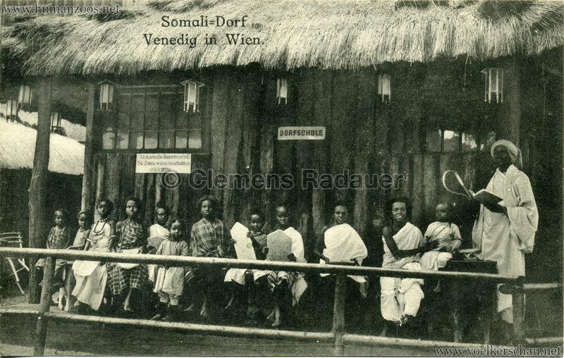 1910 Venedig in Wien Somali-Dorf 3