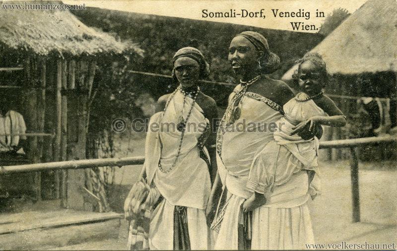1910 Venedig in Wien Somali-Dorf 4