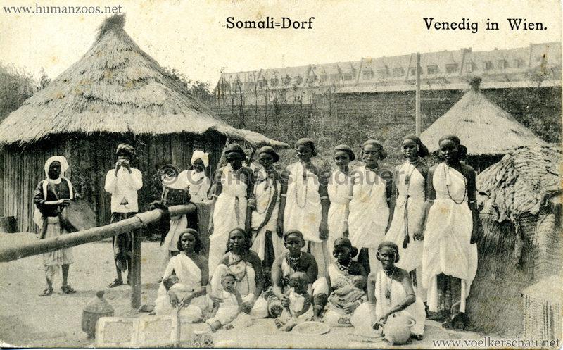 1910 Venedig in Wien Somali-Dorf 5