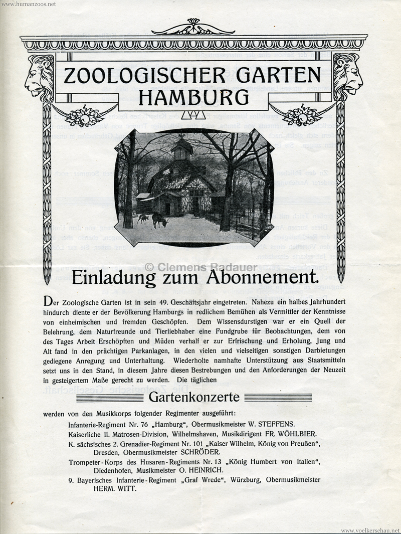 """1910 Gebrüder Marquardt\'s völkerschaftliche Schaustellung """"Die ..."""