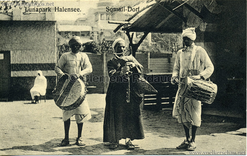 1910/1911 Lunapark Halensee - Somali-Dorf 1