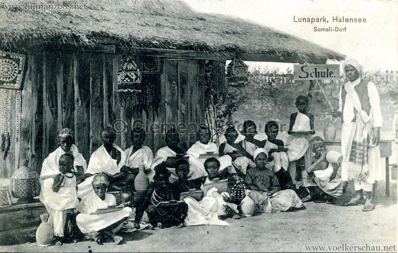 1910/1911 Lunapark Halensee - Somali-Dorf 2