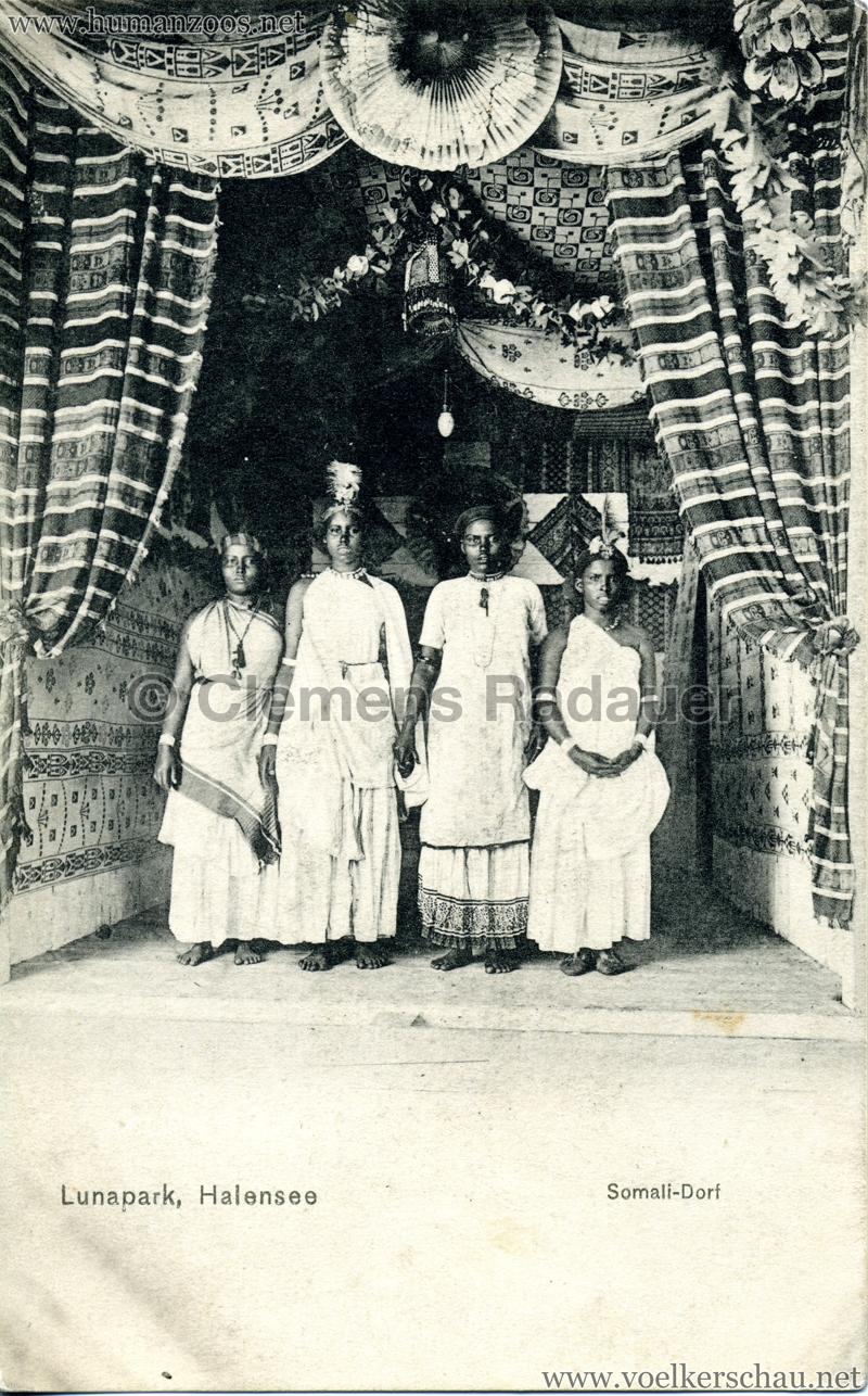 1910/1911 Lunapark Halensee - Somali-Dorf 3
