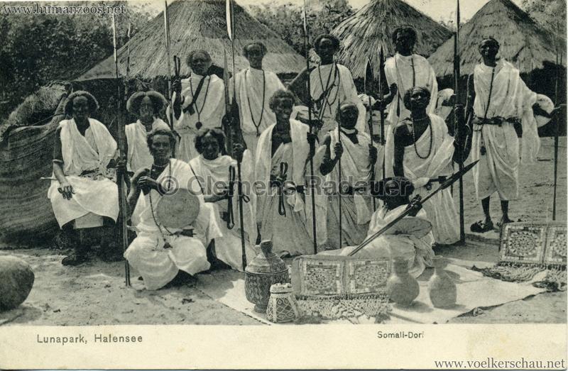 1910/1911 Lunapark Halensee - Somali-Dorf 4
