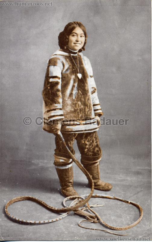 1911 Ausstellung Nordland, Berlin-Halensee - Eskimomädchen