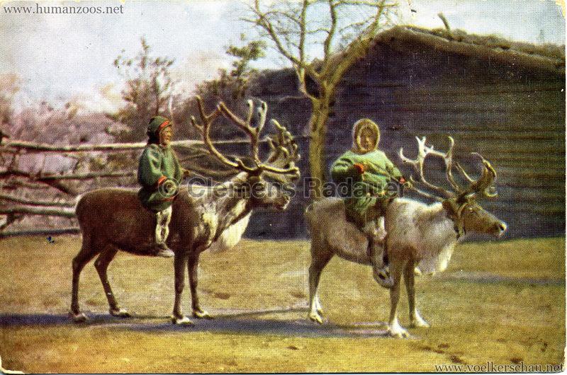 1911 Ausstellung Nordland, Berlin-Halensee - Reitende Samojedenknaben