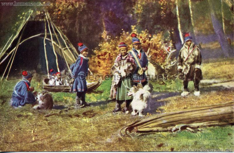 1911 Ausstellung Nordland, Berlin-Halensee - Sami-Lager