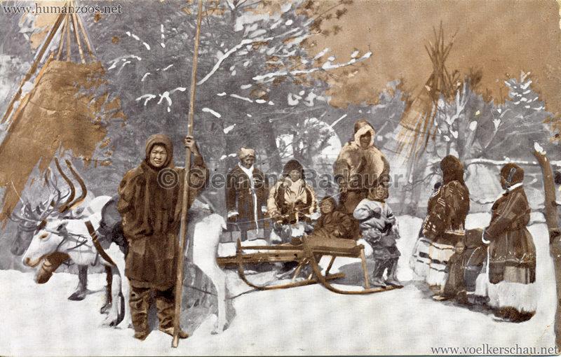 1911 Ausstellung Nordland, Berlin-Halensee - Samojedenlager