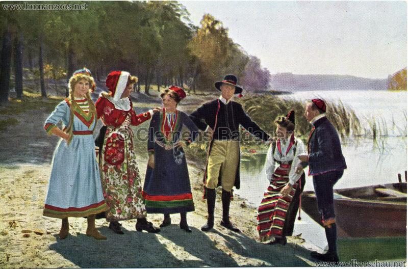 1911 Ausstellung Nordland, Berlin-Halensee - Schweden am See 1