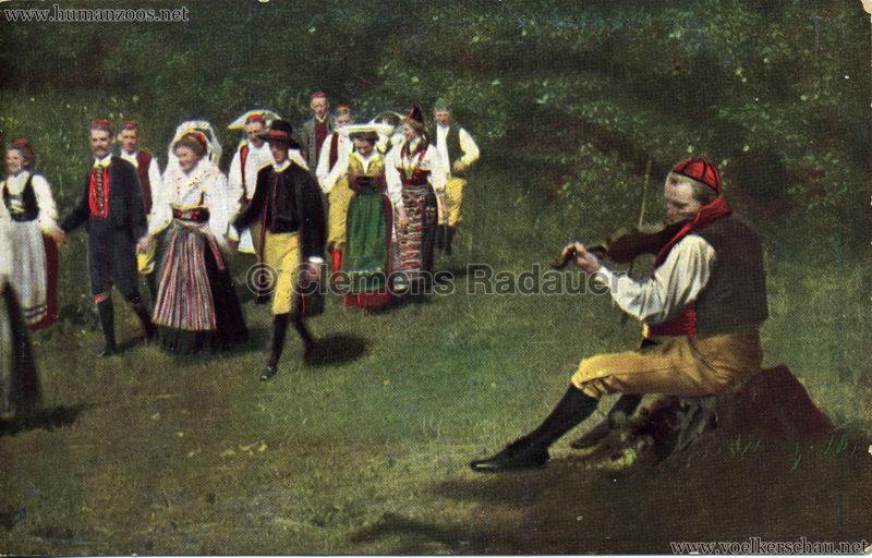 1911 Ausstellung Nordland, Berlin-Halensee - Schwedischer Geiger