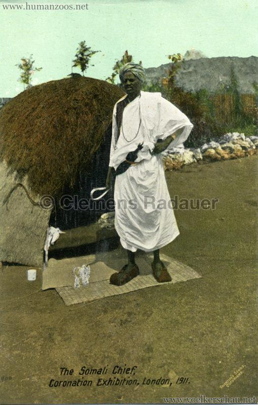 1911 Coronation Exhibition London - 808. The Somali Chief