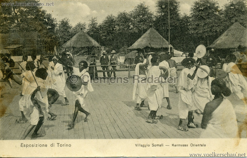 1911 Esposizione di Torino - Villaggio Somali - Kermesse Orientale 1