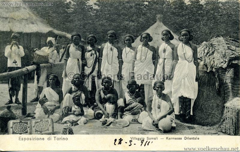 1911 Esposizione di Torino - Villaggio Somali - Kermesse Orientale 4
