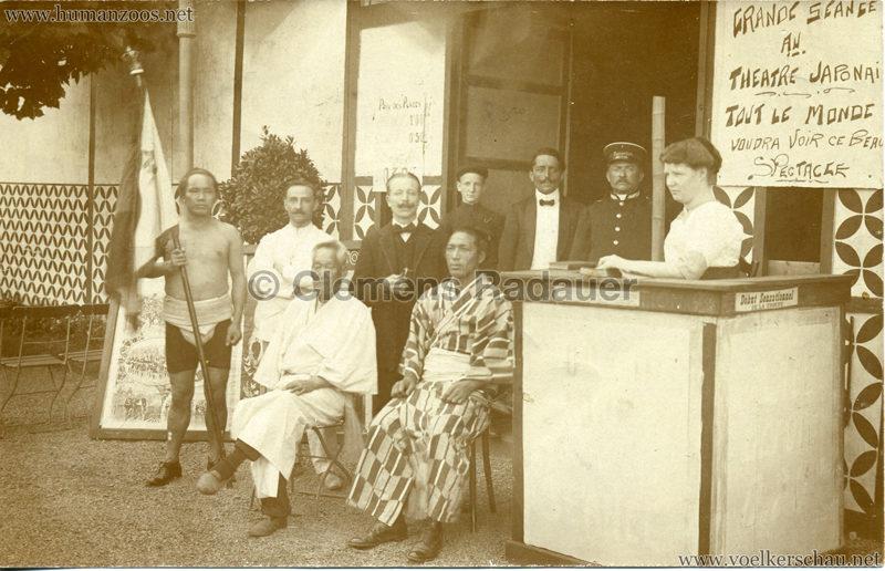 1911 Exposition de Charleroi - Theatre Japonais