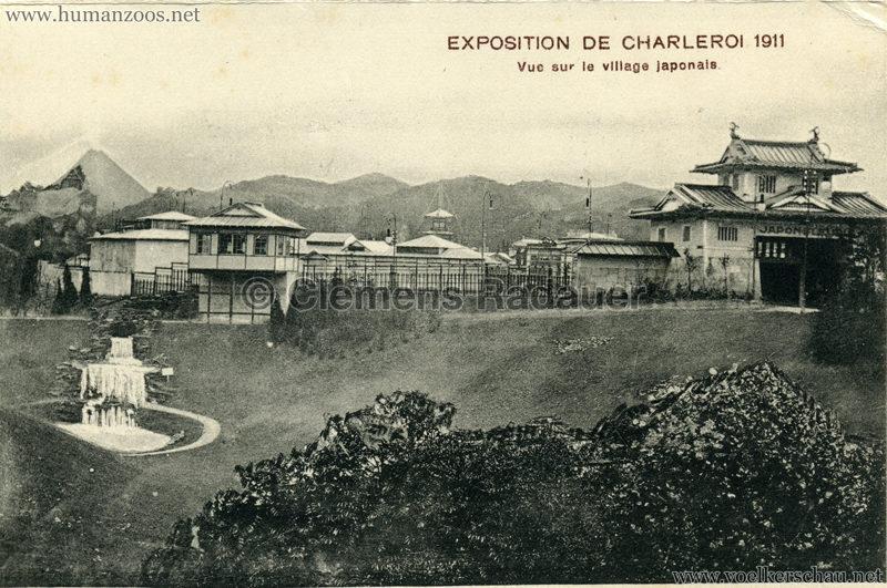 1911 Exposition de Charleroi - Vue sur le village