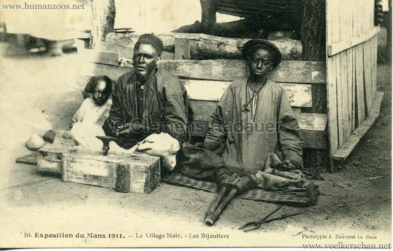1911 Exposition du Mans -  Le Village Noir 10.