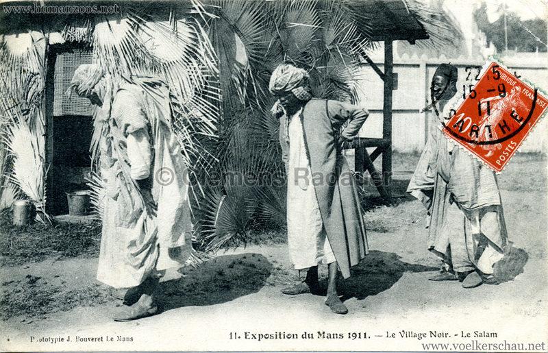 1911 Exposition du Mans -  Le Village Noir 11.