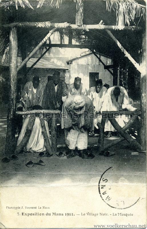 1911 Exposition du Mans -  Le Village Noir 7.