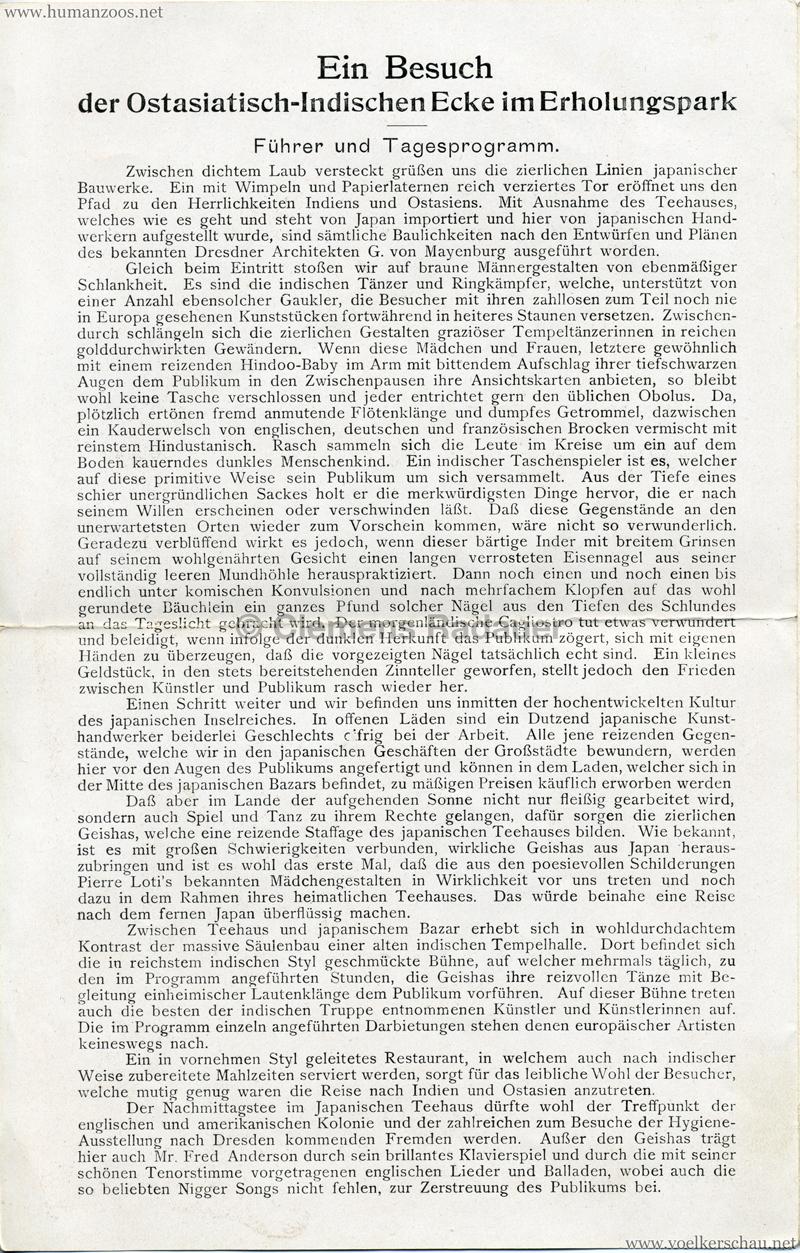 1911 Internationale Hygieneausstellung Dresden - Ostasiatische Ecke 2