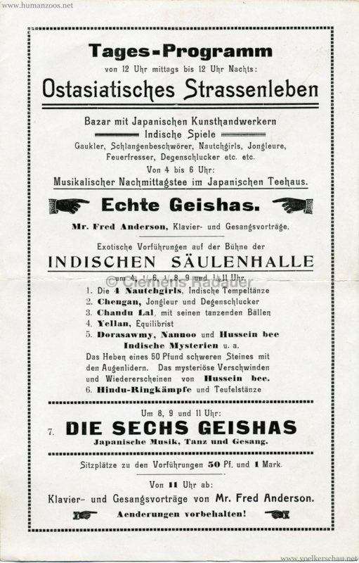 1911 Internationale Hygieneausstellung Dresden - Ostasiatische Ecke 3