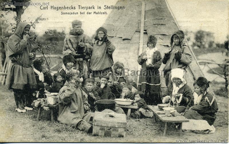 1911 Samojeden Völkerschau (Hagenbeck) - 416.