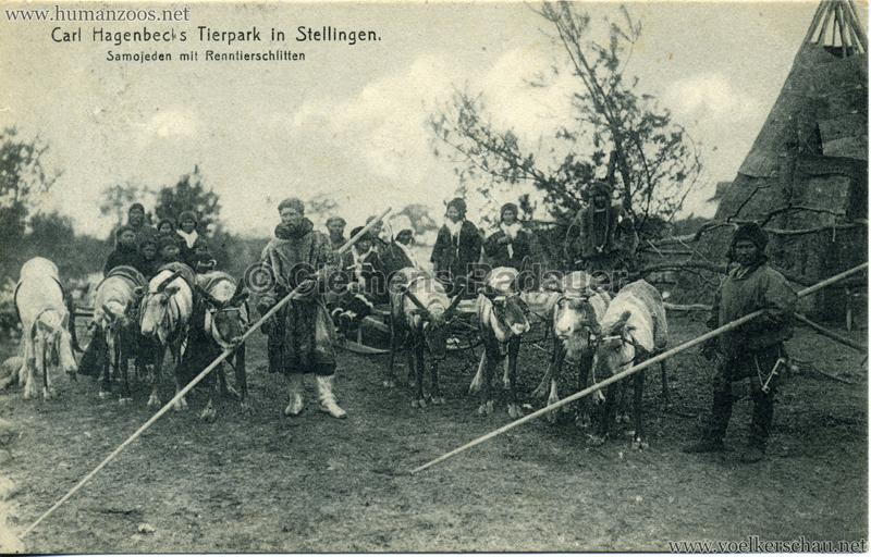 1911 Samojeden Völkerschau (Hagenbeck) - 417.
