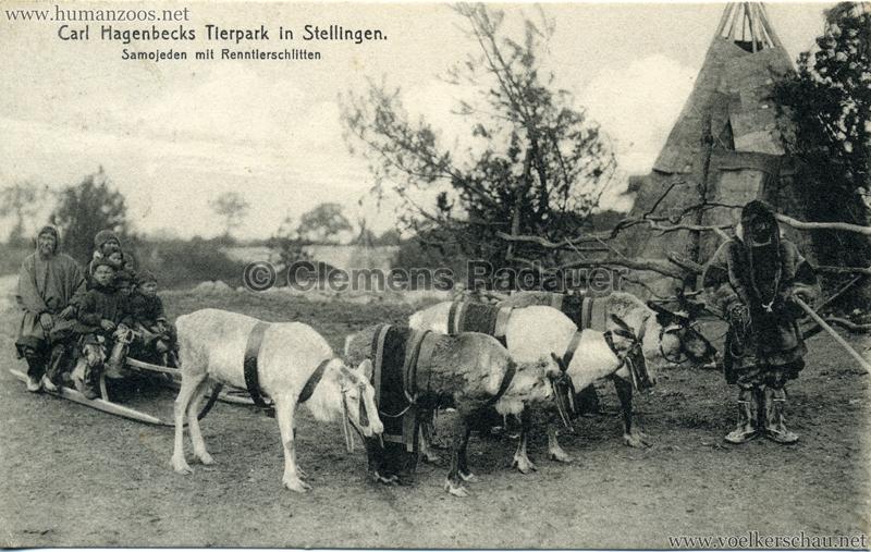 1911 Samojeden Völkerschau (Hagenbeck) - 418.
