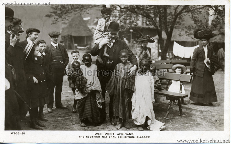1911 The Scottish National Exhibition - 81. Wee West Africans