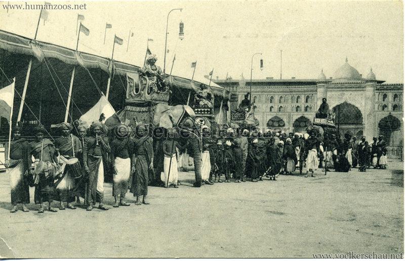 1911/1912 Gustav Hagenbeck's grösste indische Völkerschau der Welt 3