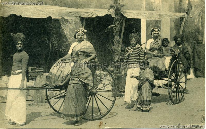 1911/1912 Gustav Hagenbeck's grösste indische Völkerschau der Welt 6
