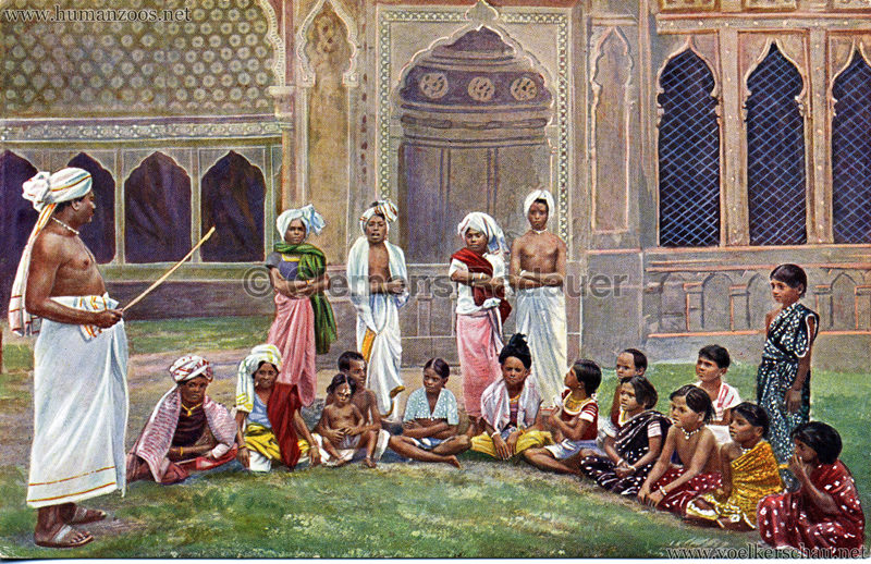 1911/1912 Gustav Hagenbeck's grösste indische Völkerschau der Welt 1