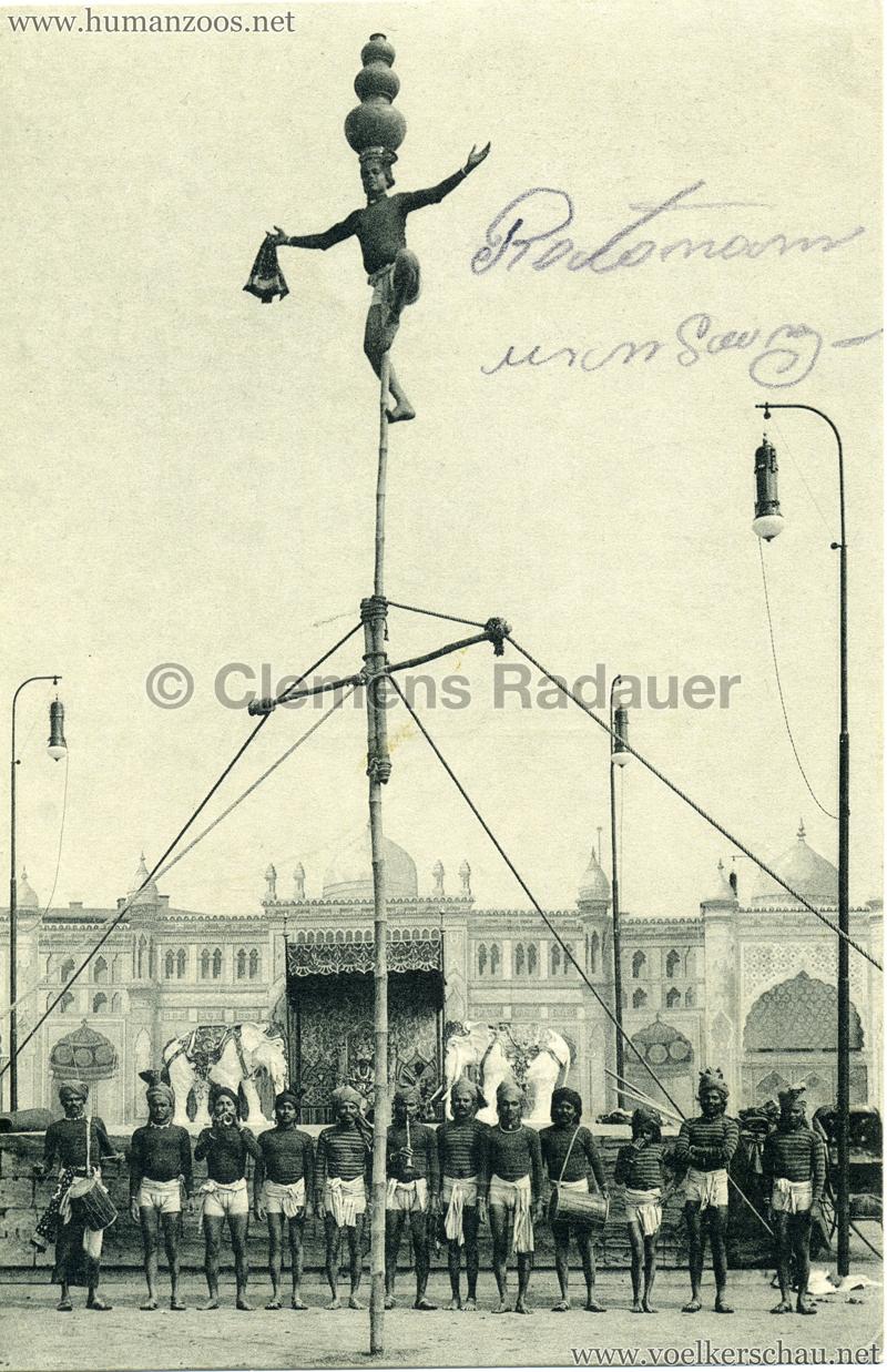 1911/1912 Gustav Hagenbeck's grösste indische Völkerschau der Welt 7
