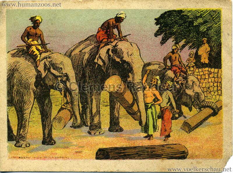 1911/1912 Gustav Hagenbeck's größte Indische Völkerschau der Welt VS