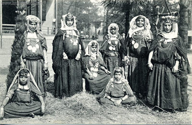 1912 Marquardt's Beduinen-Karawane 10. Beduinenfrauen und Mädchen
