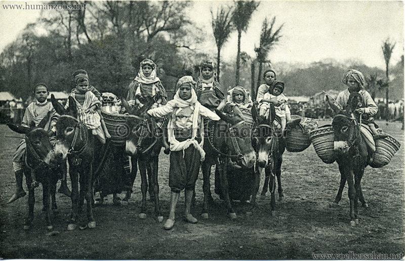 1912 Marquardt's Beduinen-Karawane 2. Kleine Eselreiter