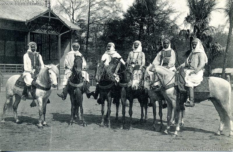 1912 Marquardt's Beduinen-Karawane 6. Reitergruppe