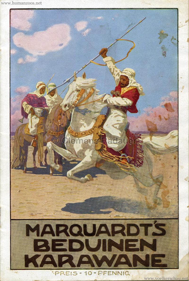 1912 Marquardt's Beduinen Karawane