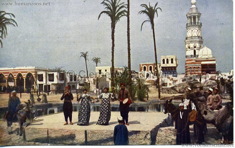 1912 Völkerschau Beduinen - Arabische Bauchtänzerin