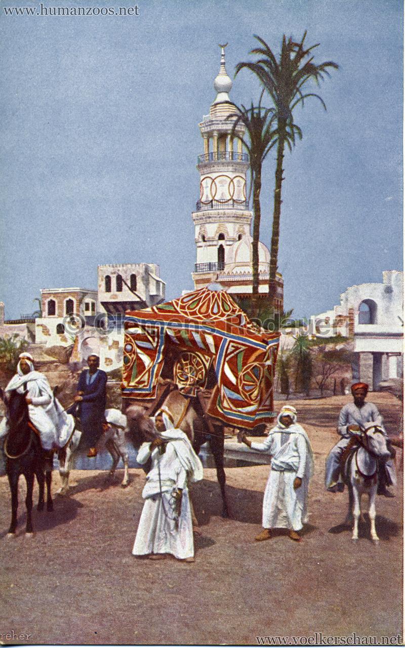 1912 Völkerschau Beduinen - Reiter