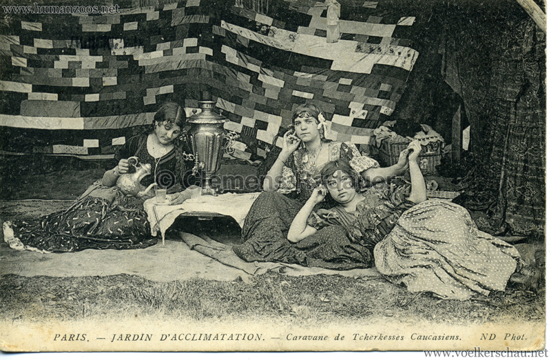 1913 Caravane de Tcherkesses Caucasiens - Jardin d'Acclimatation - 2