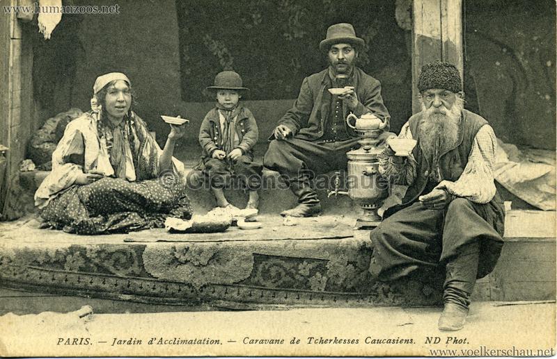 1913 Caravane de Tcherkesses Caucasiens - Jardin d'Acclimatation - 3