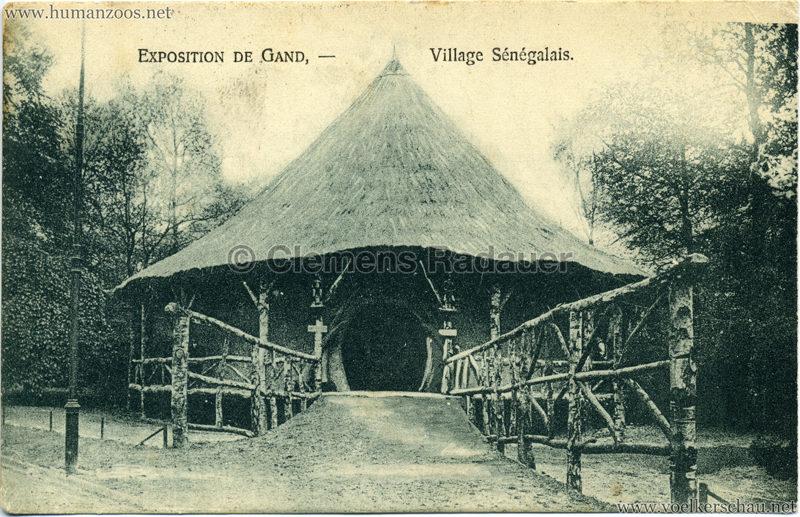 1913 Exposition de Gand - Village Sénégalais 3