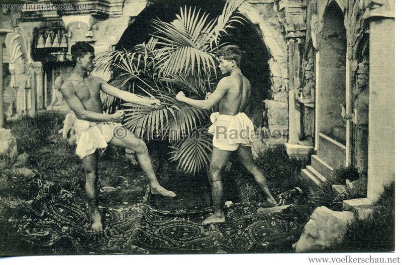 1913 Völkerschau Birma (Hagenbeck) - No 4 Boxer