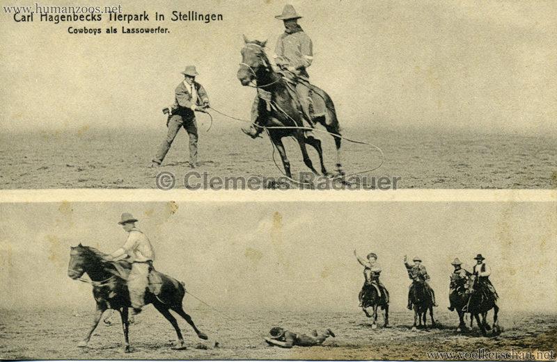 1910 Sioux - Cowboy als Lassowerfer