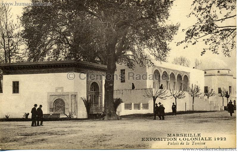 1922 Exposition Coloniale  Marseille - Palais de la Tunisie