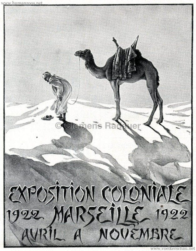 1922 Exposition Coloniale Marseille Reklame 2